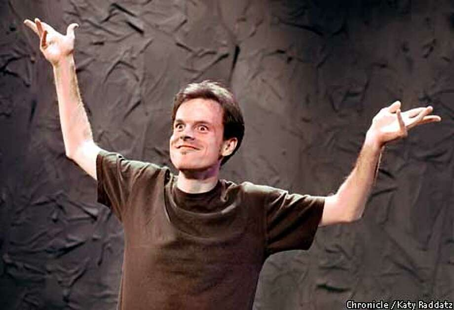 "LUCKY02b-C-28MAR01-DD-RAD  Photo by Katy Raddatz The Chronicle  ""House of Lucky"" is a solo show by Frank Worthham, who does a variety of characters. Playing at the Magic theater in Fort Mason. Photo: KATY RADDATZ"