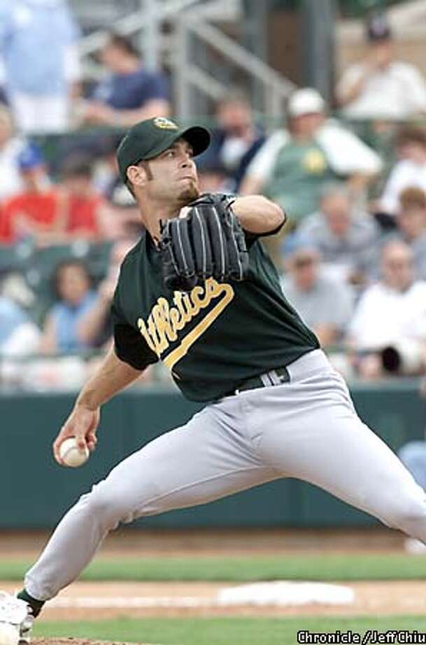 Tim Hudson: His arrival in June 1999 heralded the improved A's rotation. Chronicle photo by Jeff Chiu