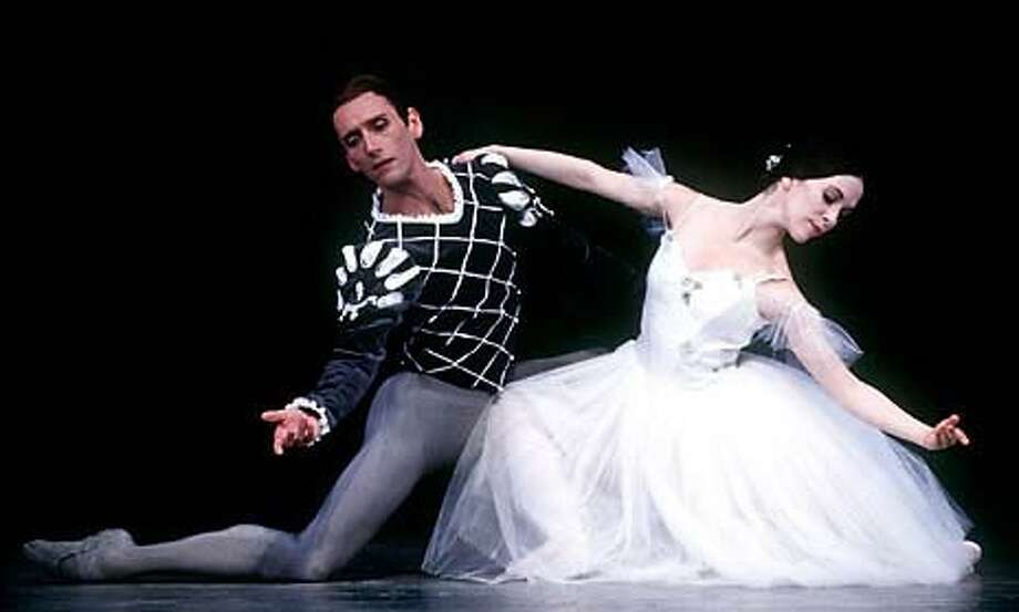 Parrish Maynard and Kristin Long in the second of five casts of ``Giselle.''
