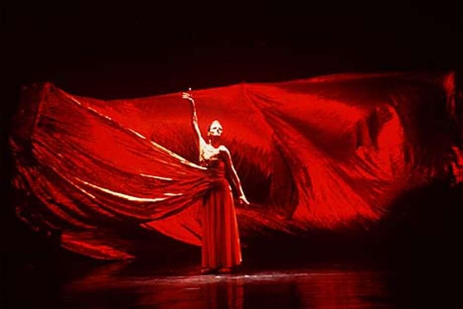 "Yelena Kuzmina in a scene from ""Russian Hamlet."" Handout Photo"