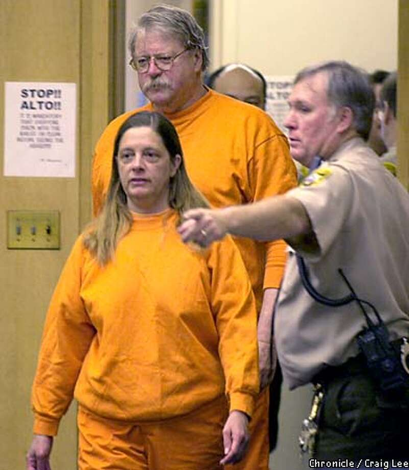 Marjorie Knoller and Robert Noel appeared in San Francisco Superior Court. Chronicle photo by Craig Lee