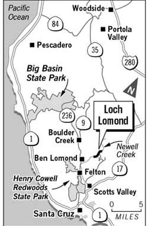 Loch Lomond. Chronicle Graphic