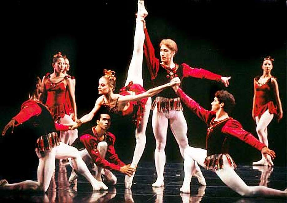 """Attached is the stuffed Tiff file for San Francisco Ballet's production of George Balanchine's """"Rubies."""" The image is of Muriel Maffre and members of the Company. Let me know if you need anything else, or if you have trouble opening the file."""