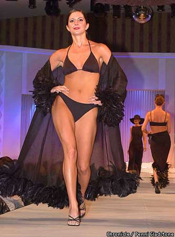 The BODY27 is about how Selin Kolankya got in shape to model a bathing suit. Jr. League is marking its 75th annual fashion show to raise funds for programs run by the volunteers at Junior League which took place at the Fairmont Hotel Grand Ballroom PHOTO BY PENNI GLADSTONE Photo: PENNI GLADSTONE