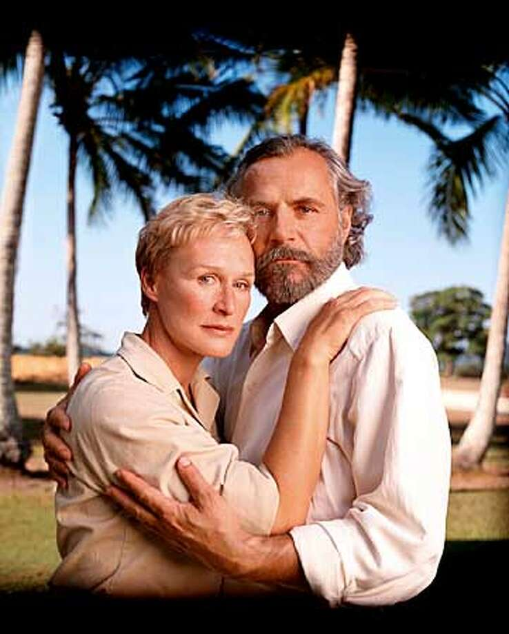 """64579 (0/0/00) SOUTH PACIFIC - Academy Award�-nominated and Emmy Award-winning actress Glenn Close, Harry Connick, Jr., Rade Sherbedgia, Jack Thompson and Emmy Award-nominated actor Robert Pastorelli star in the musical masterpiece, """"Rodgers & Hammerstein�s South Pacific,"""" a new, three hour movie based on James Michener�s Pulitzer Prize-winning collection of stories, """"Tales of the South Pacific."""" Set on a remote island during World War II, the film follows two parallel romances: one between Ensign Nellie Forbush (Ms. Close), a Navy nurse, and Emile de Becque (Mr. Sherbedgia), a wealthy, French plantation owner; and the other between a native girl and a young American Marine, Lt. Joseph Cable (Mr. Connick), whose secret mission on the island could helpchange the course of the war. """"Rodgers & Hammerstein�s South Pacific"""" airs as a presentation of """"The Wonderful World of Disney"""" on ______________ (_______________) on the ABC Television Network.  GLENN CLOSE, RADE SHERBEDGIA  Photographer: CAROLYN JOHNS Photo: CAROLYN JOHNS"""