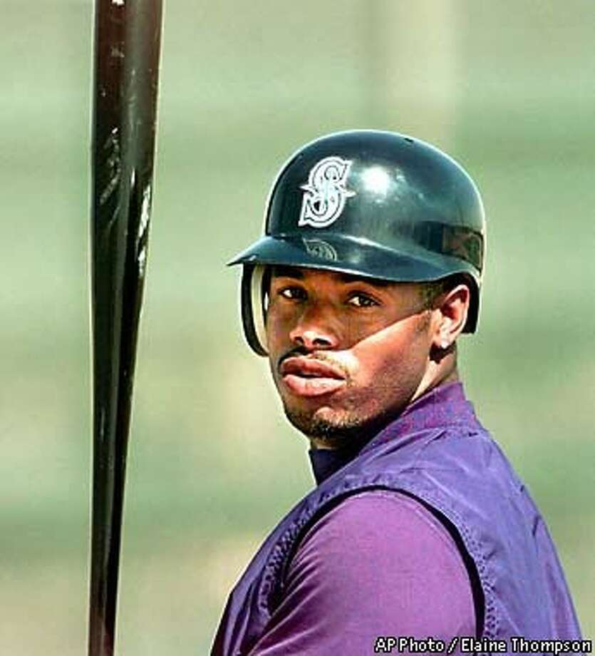 The Mariners' Ken Griffey Jr. is one of the game's front-and-center superstars. AP Photo by Elaine Thompson