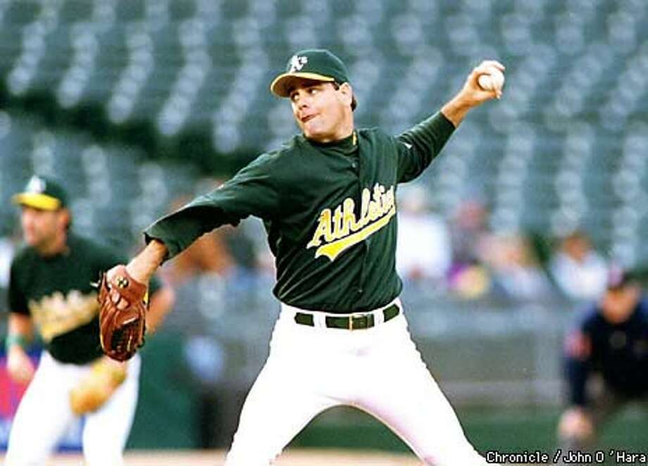 When top started Kenny Rogers is traded, 41-year-old Tom  Candiotti will be the A's best hope. Chronicle Photo by John O'Hara
