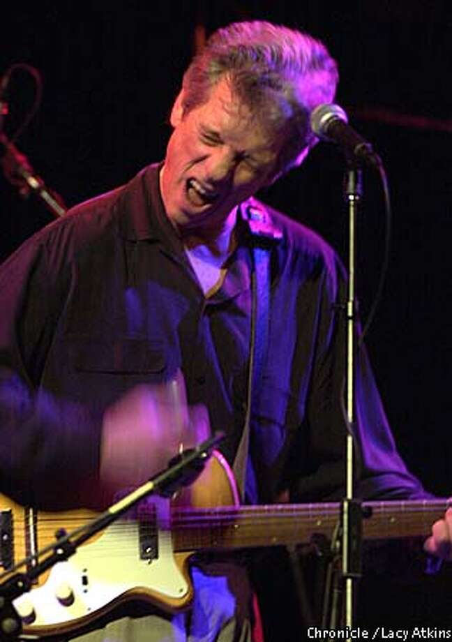 John Hammond performed at the Great American Music Hall on Wednesday. Chronicle photo by Lacy Atkins