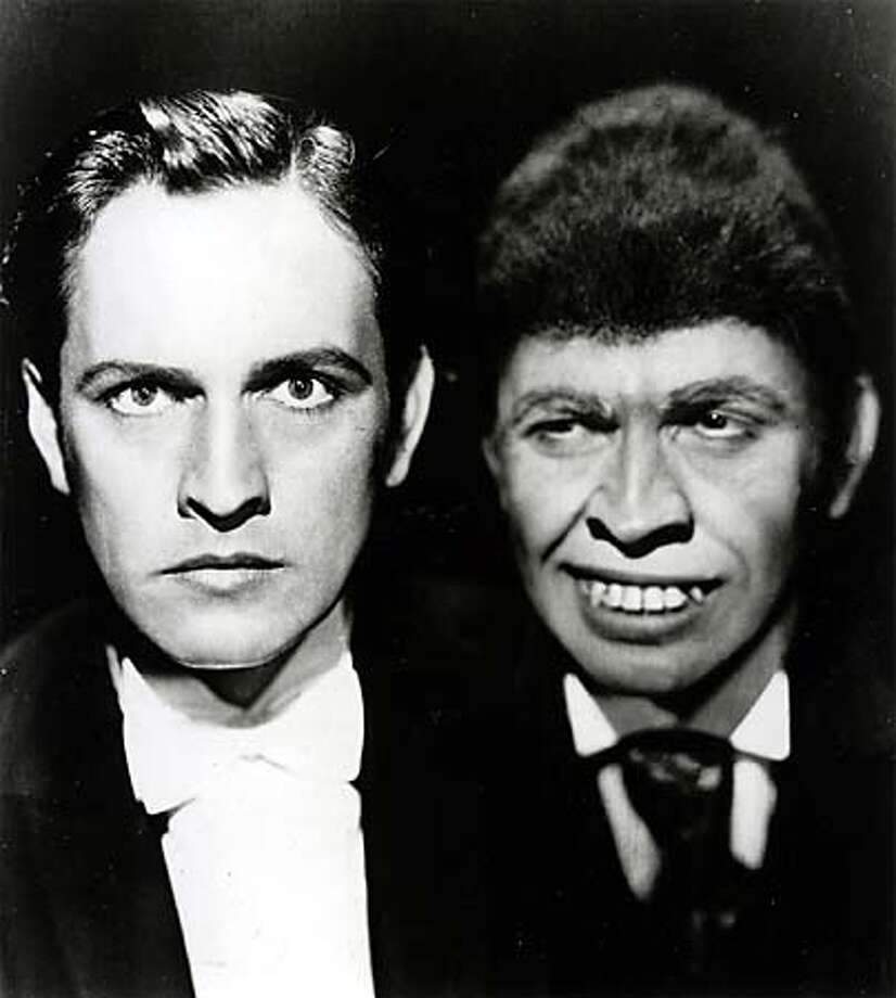 "Fredric March won the best-actor Oscar for his performance in the classic film ""Dr. Jekyll and Mr. Hyde."" Handout Photo"