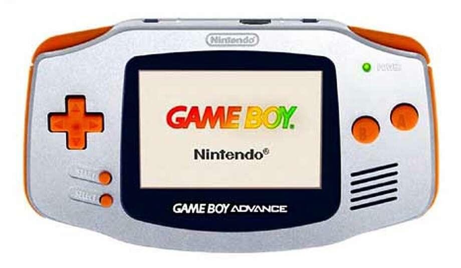 Game Boy Advance unit  HANDOUT Photo: HANDOUT