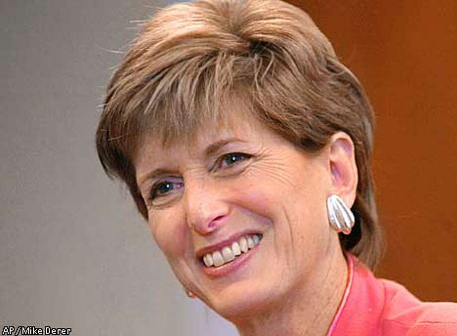 FILE--New Jersey Gov. Christie Whitman, shown here at her office in Newark, N.J., in this Dec. 14, 2000, file photo, was confirmed by the U.S. Senate, 99-0, Tuesday, Jan. 30, 2001, to lead the Environmental Protection Agency for the Bush administration. Whitman's new job ends the tenure as New Jersey's first female governor. (AP Photo/Mike Derer, File) Photo: MIKE DERER