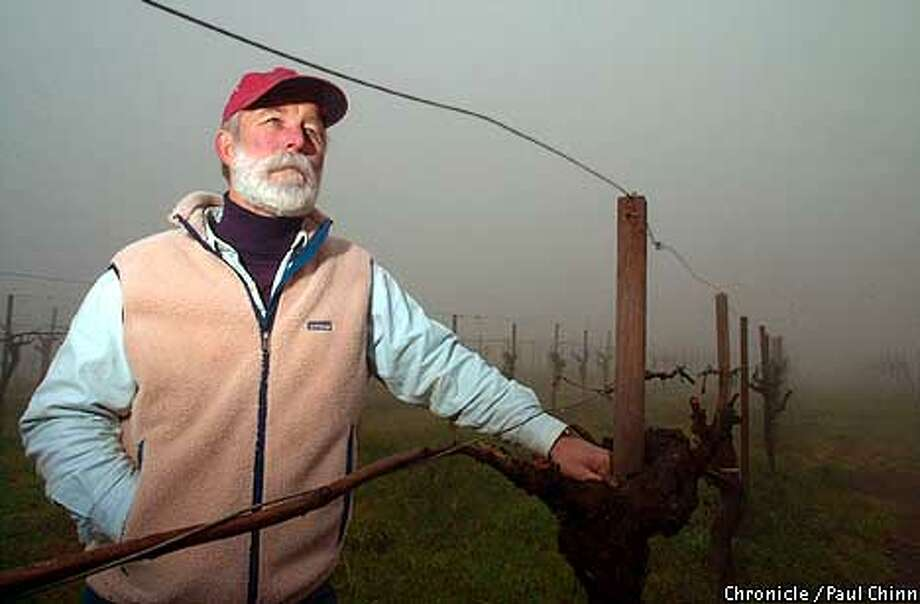Napa Valley winemaker Charles Smith of Smith-Madrone Winery in St. Helena.  PAUL CHINN/S.F. CHRONICLE Photo: PAUL CHINN