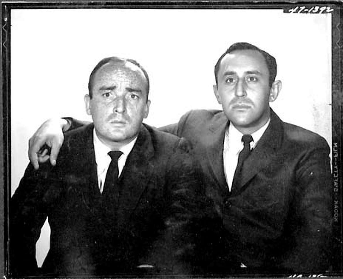 The comedy team of Jim Coyle (left) and Sharpe.