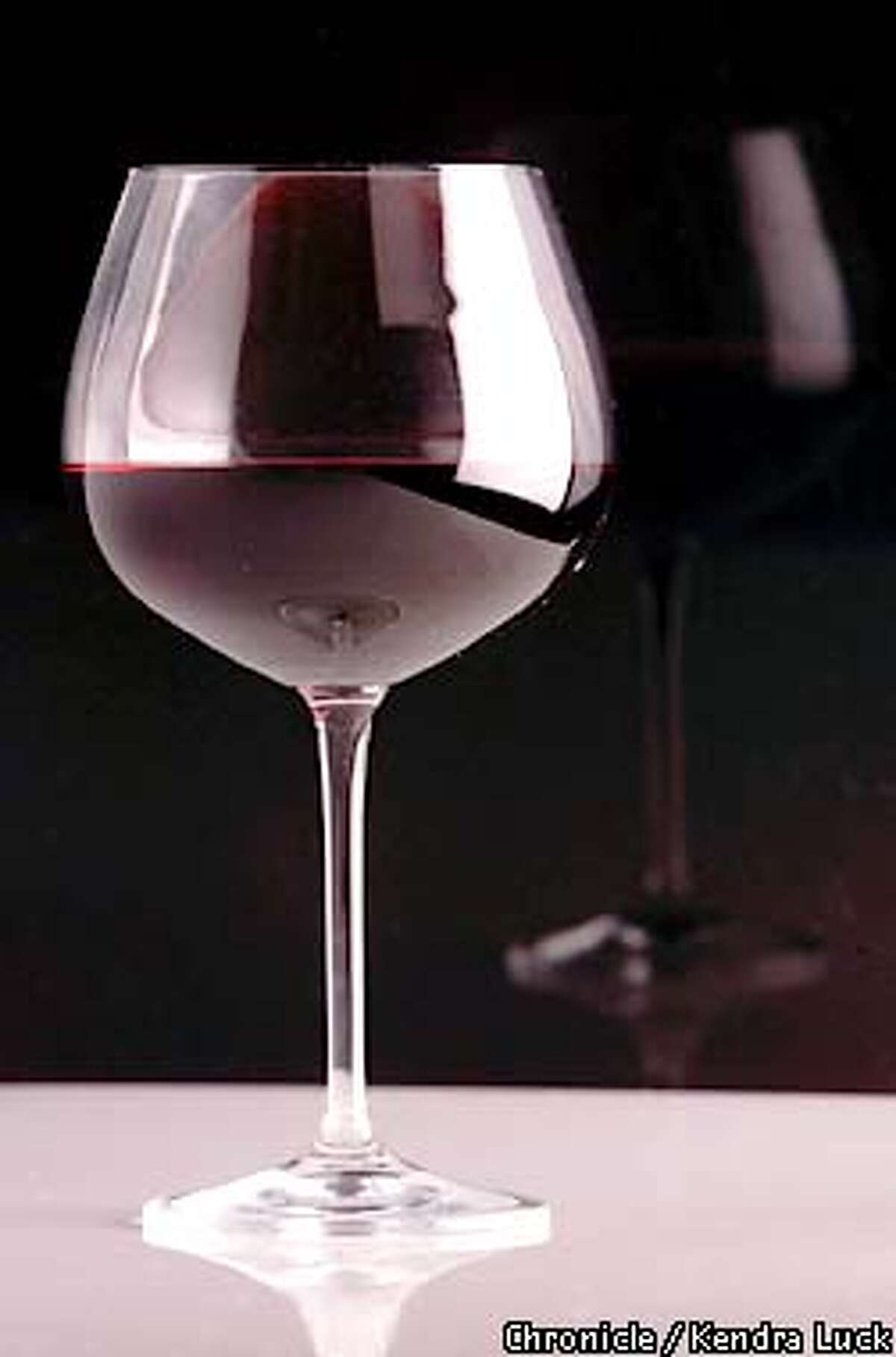 Glass of wine for jump for wine etiquette story. (KENDRA LUCK/SAN FRANCISCO CHRONICLE)
