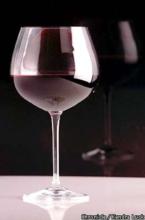 Glass of wine for jump for wine etiquette story.  (KENDRA LUCK/SAN FRANCISCO CHRONICLE) Photo: KENDRA LUCK