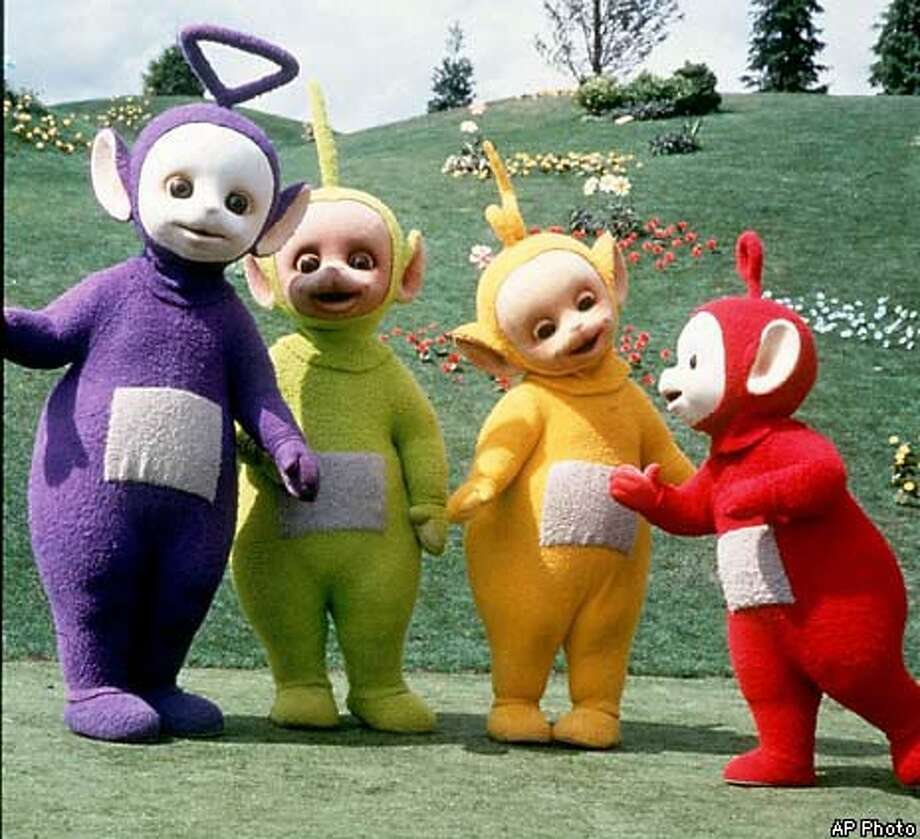 The Rev. Jerry Falwell has said that the purple Teletubby, Tinky Winky, is a gay role model. AP Photo