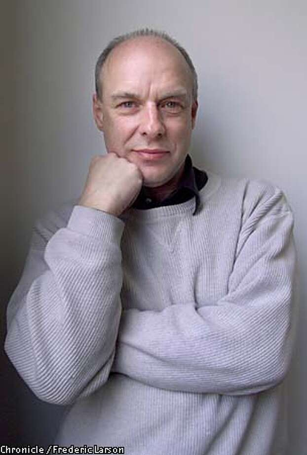 Musician Brian Eno. Chronicle photo by Frederic Larson