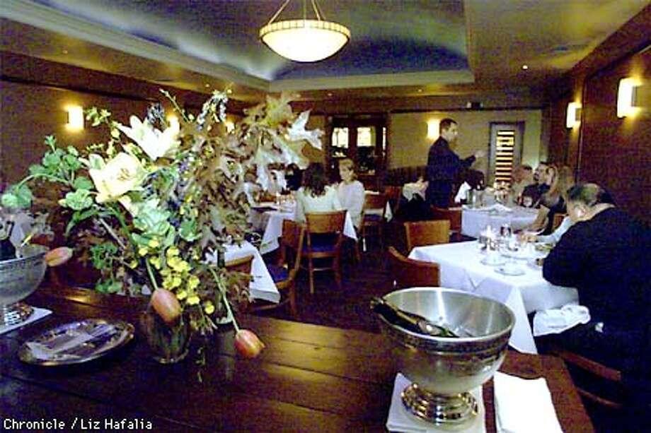 '231 Ellsworth'--the name of the restaurant and the address--in San Mateo. PHOTO BY LIZ HAFALIA/CHRONICLE Photo: LIZ HAFALIA