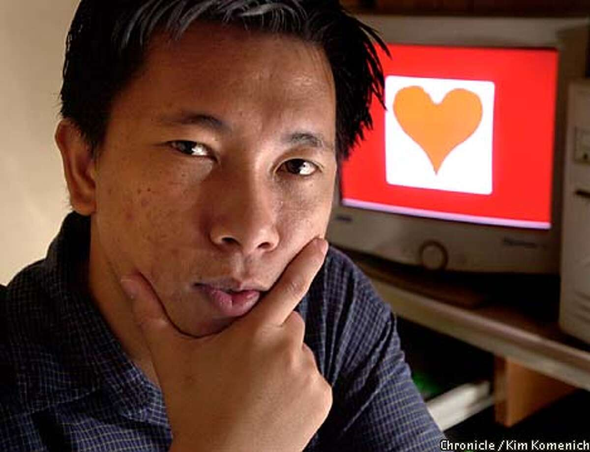 Onel de Guzman, the suspected creator of the 'Lovebug' virus, says his hobby of hacking was never intended to be destructive. Chronicle photo by Kim Komenich