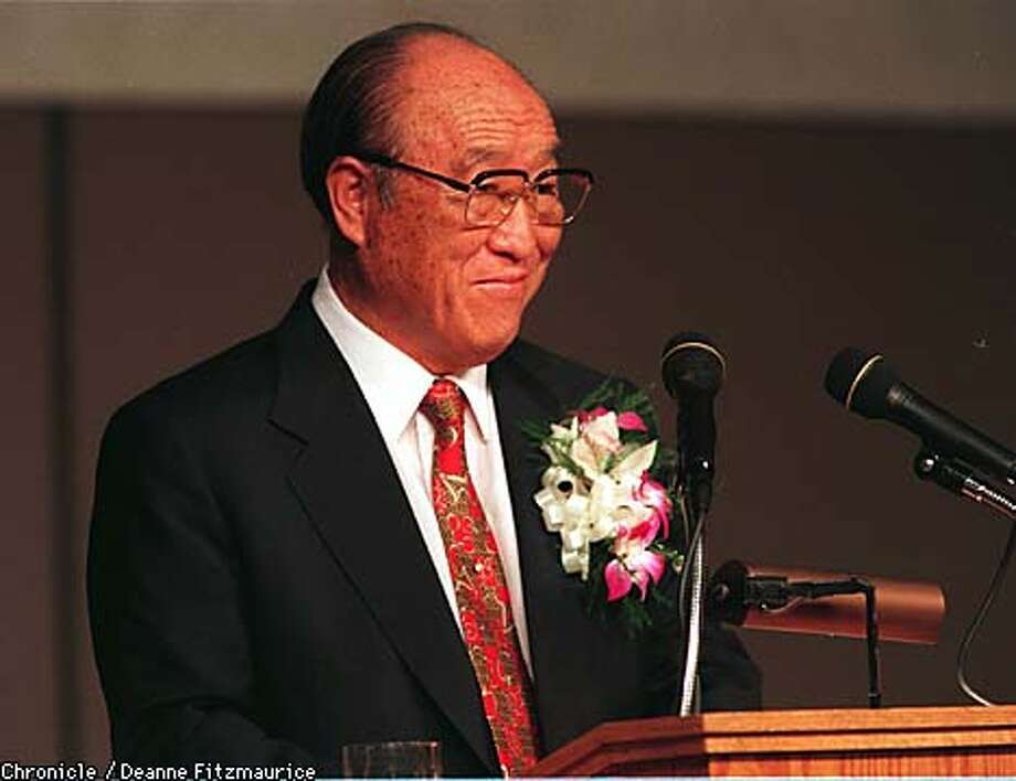 "Reverend Sun Myung Moon convinced thousands of baby boomers that he was the new ""messiah."" Now those aging converts are trying to keep their own kids in the fold. Chronicle photo, 1997, by Deanne Fitzmaurice"