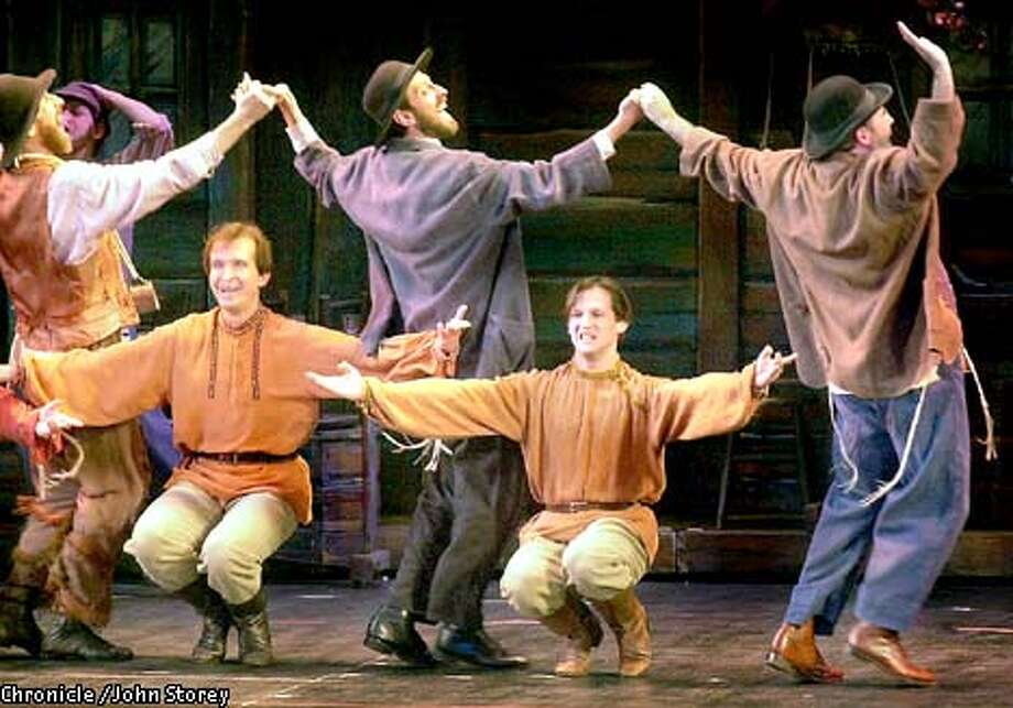 Fiddler And Bikel Live Up To Tradition Dances Staged