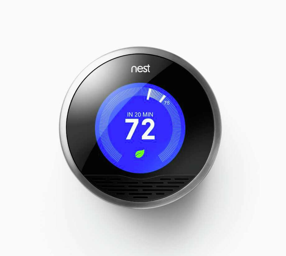 The sleek Nest thermostat, which costs $249, and can learn occupants' preferences and even detect if they are away, in an undated handout photo. Several new thermostat models offer much-needed improvements over the run-of-the-mill versions on most walls. (Handout via The New York Times) -- NO SALES; FOR EDITORIAL USE ONLY WITH STORY SLUGGED HIGH TECH THERMOSTATS BY FARHAD MANJOO. ALL OTHER USE PROHIBITED. Photo: HANDOUT, NYT / HANDOUT