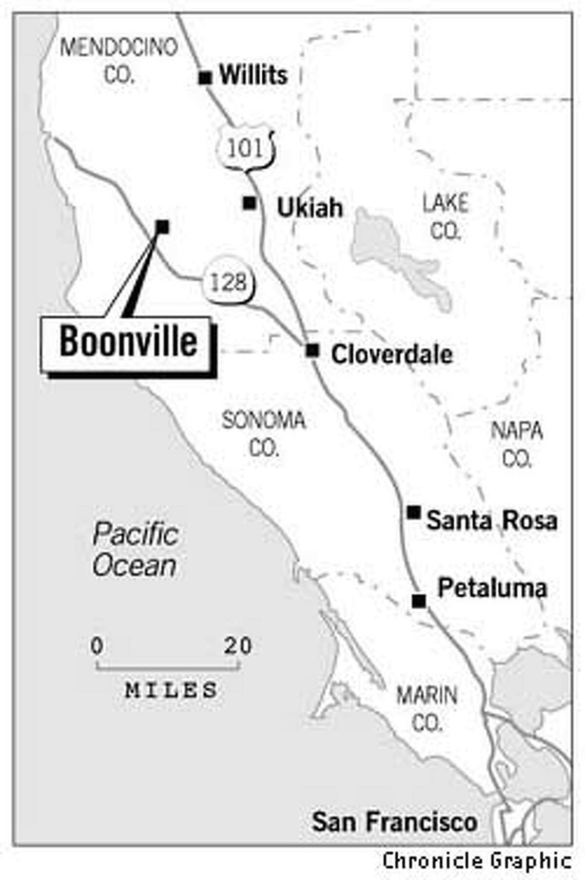 Boonville. Chronicle Graphic