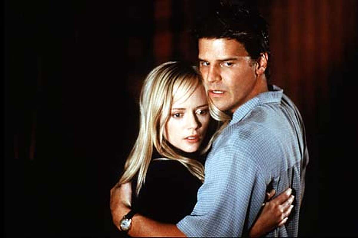 Marley Shelton plays a young woman trying to decide whether to stay with her alcoholic boyfriend (David Boreanaz) in