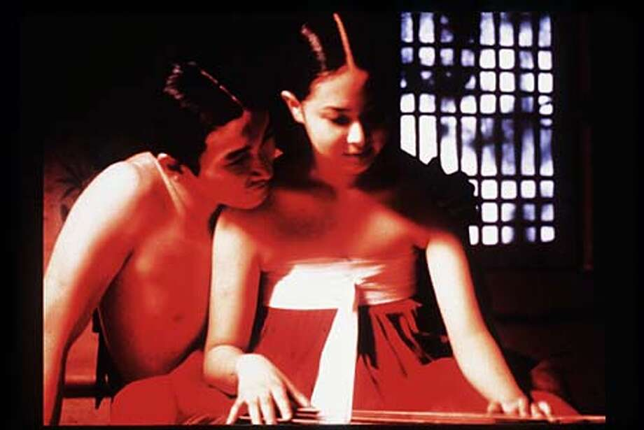 "Cho Seung Woo (left) and Lee Hyo Jung portray an 18th century nobleman's son and a courtesan's daughter in ""Chunhyang."" Publicity photo"