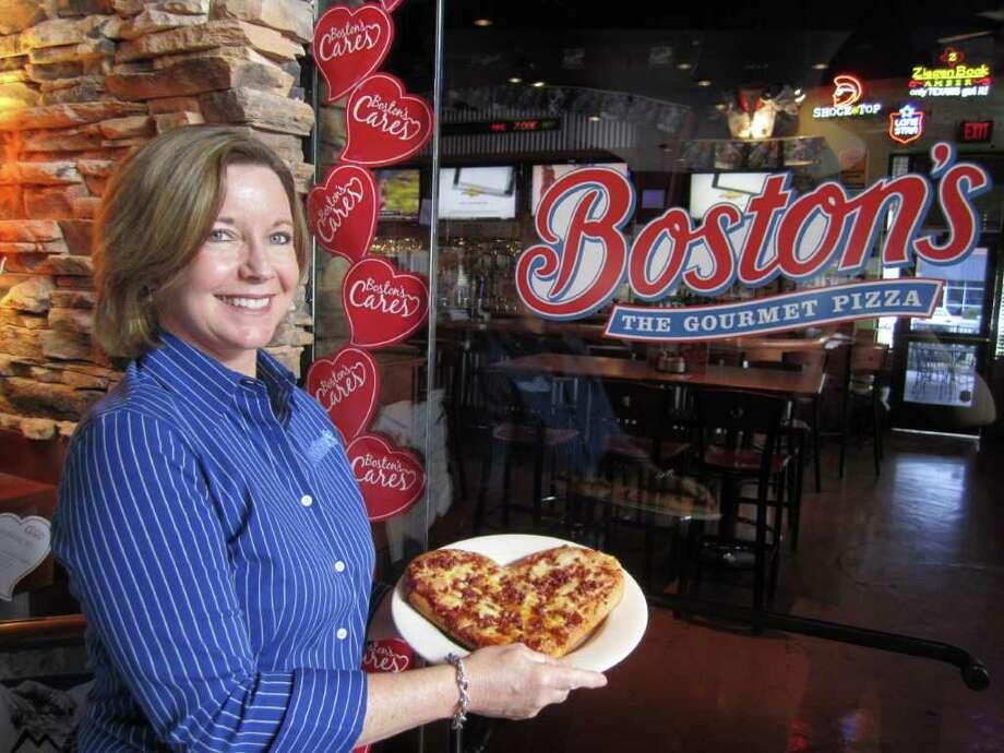 Susan Stoval, Boston's Gourmet Pizza Photo: Jessica Elizarraras