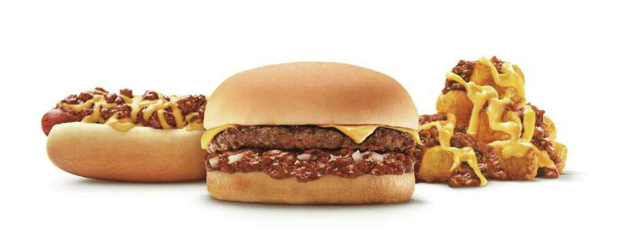 Through the end of February, you can enjoy chili four ways, at a special price at Sonic. For $1.99, get your choice of the 6-inch Chili Cheese Coney, the Jr. Chili Cheeseburger, medium chili cheese tots or medium chili cheese fries.