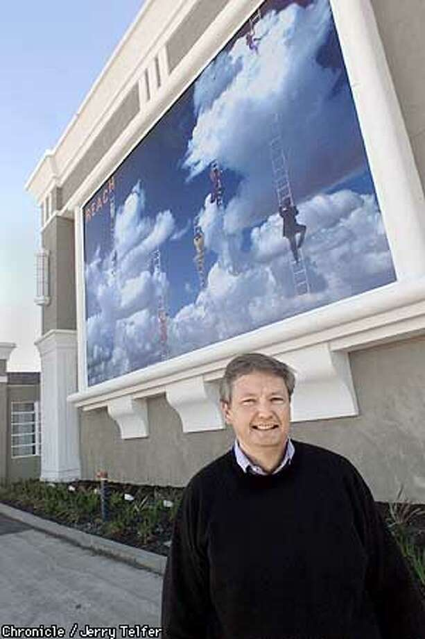 Roger Snell is the CEO of Winship Properties, a firm which specializes in revitalizing low-performing hotel properties. At this Holiday Inn in Concord, CA one of the innovations is a multistory mural which will be changed every 3 months.  1050 Burnett Avenue - Concord, CA  CHRONICLE STAFF PHOTO BY JERRY TELFER Photo: JERRY TELFER