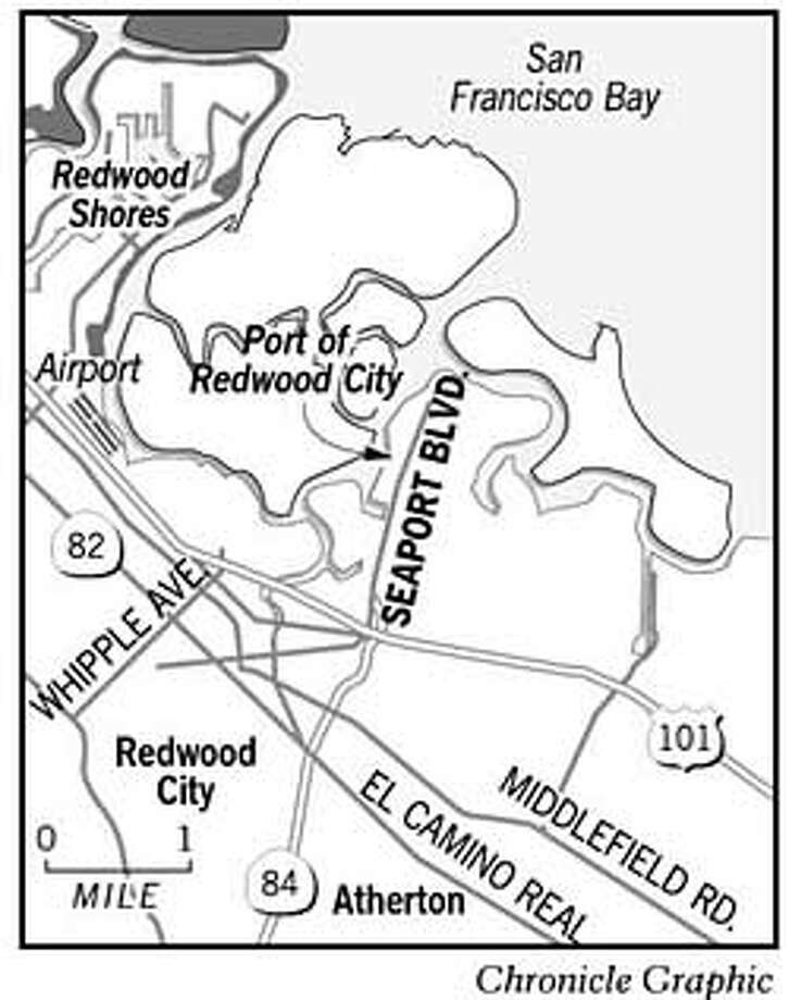 Port of Redwood City. Chronicle Graphic