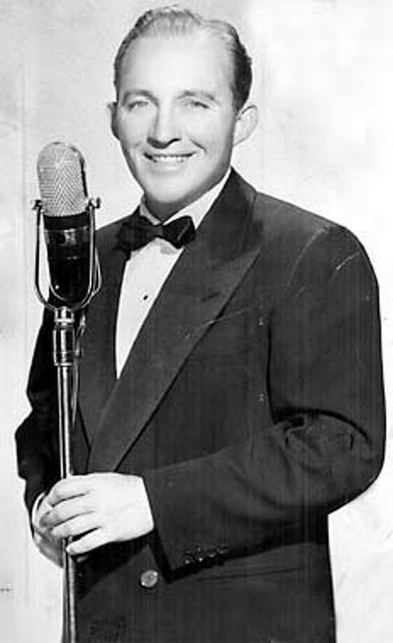 Bing Crosby no date given.  (HANDOUT PHOTO) Photo: HANDOUT