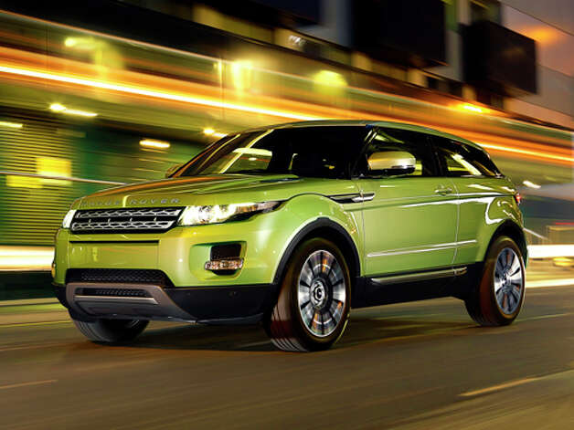 2012 Range Rover Evoque (photo courtesy Range Rover) Photo: Joe Windsor-williams