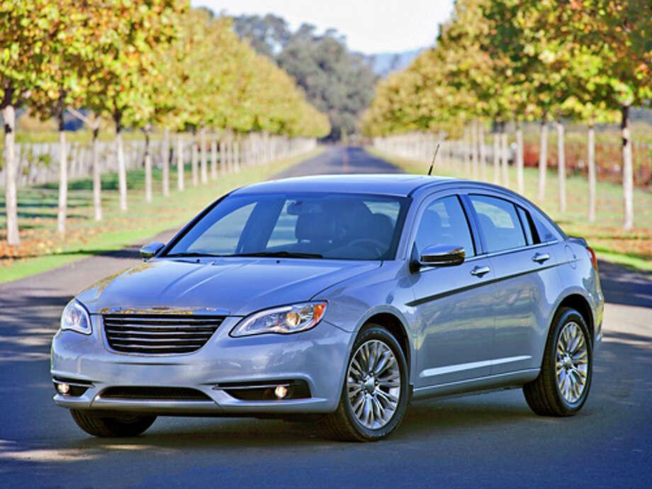 2012 Chrysler 200S (photo courtesy Chrysler) Photo: Bill Delaney