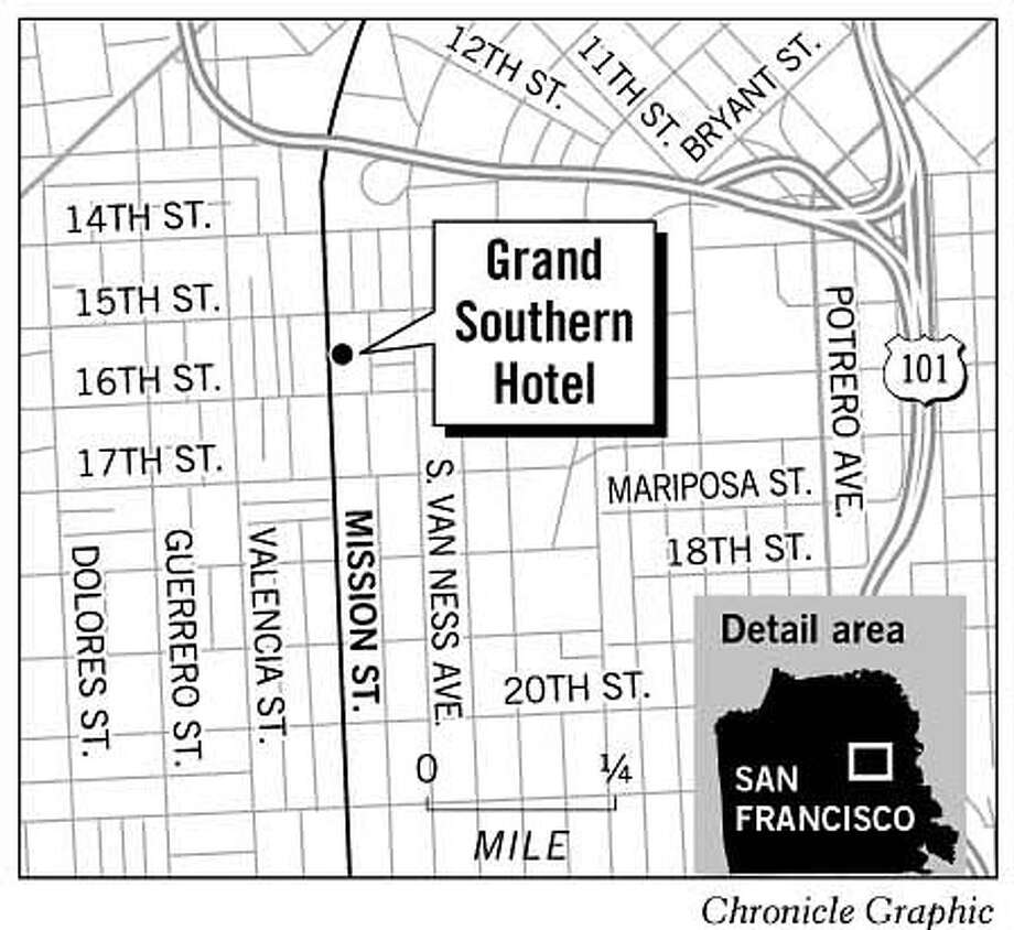 Grand Southern Hotel. Chronicle Graphic