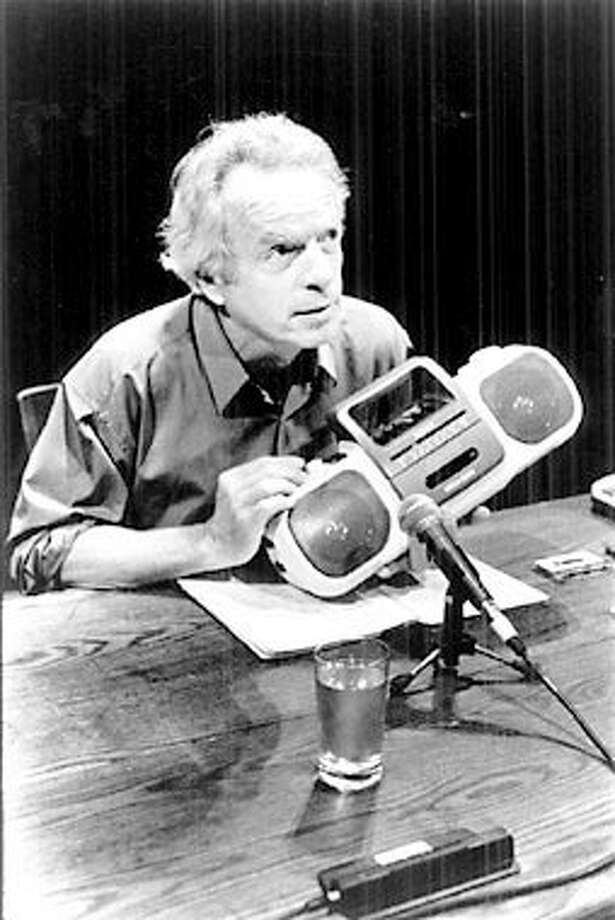"""Spalding Gray says the enlightenment of his children turned him into """"a regular human being.""""Photo by Paula Court, special to the Chronicle"""