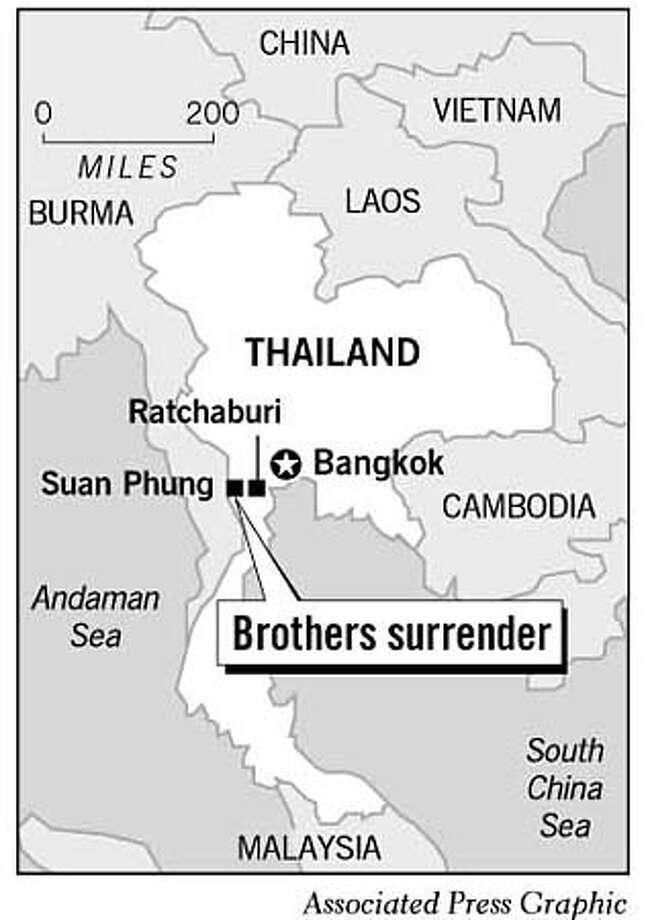 Thailand. Associated Press Graphic