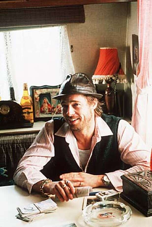 "Brad Pitt stars in ""Snatch."" Associated Press photo by Daniel Smith, Screen Gems"