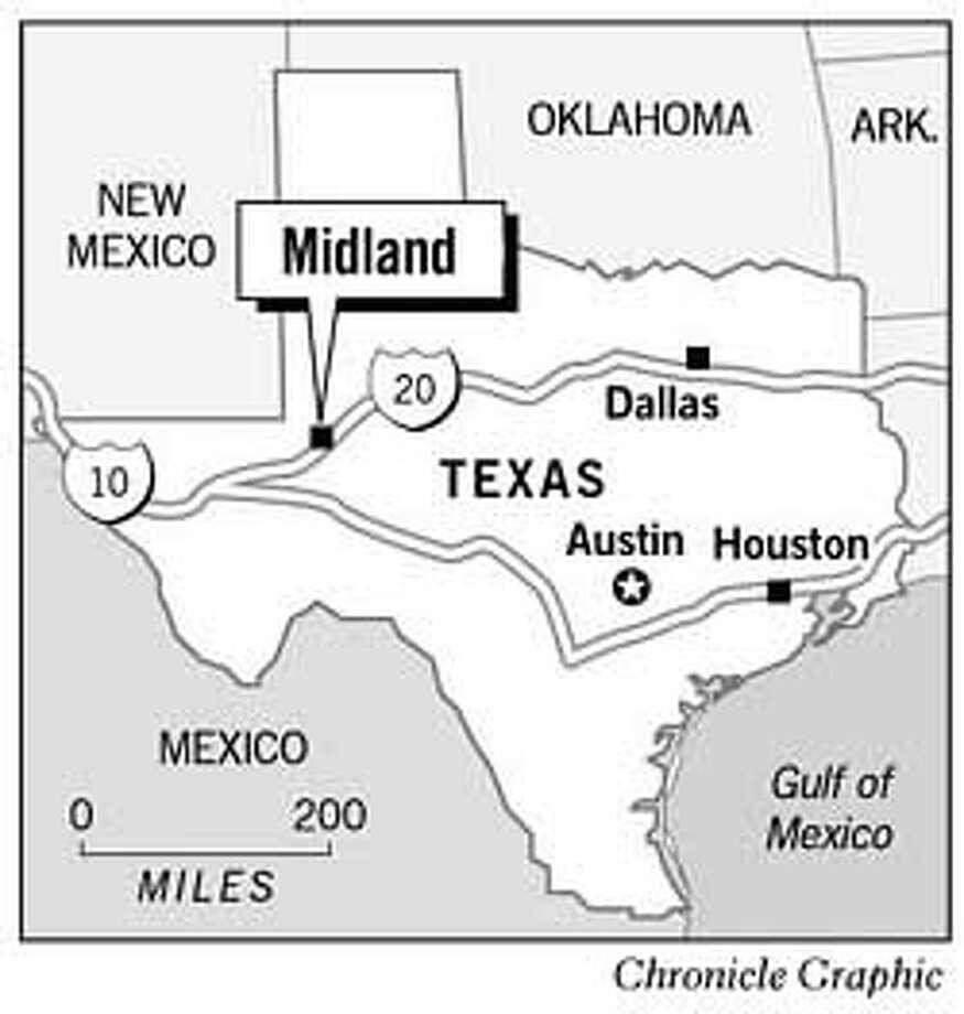 Midland, Texas. Chronicle Graphic