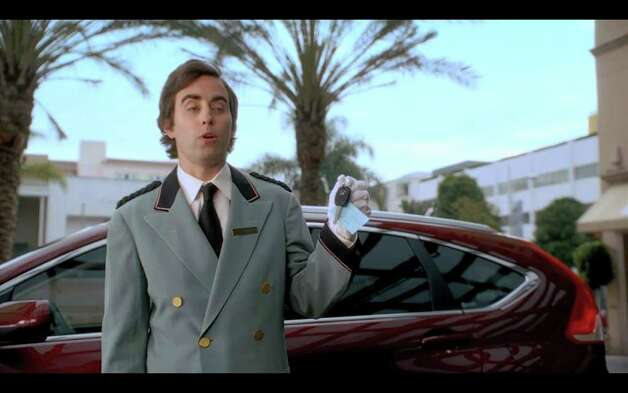 "A screengrab taken from YouTube on Thursday, Feb 2., shows a Honda commercial set to air Super Bowl Sunday, Feb. 5, 2012. The commercial features Matthew Broderick, who starred in the film ""Ferris Bueller's Day Off."" Here a valet is asking, ""Bueller? Bueller?"" (Times Union)"