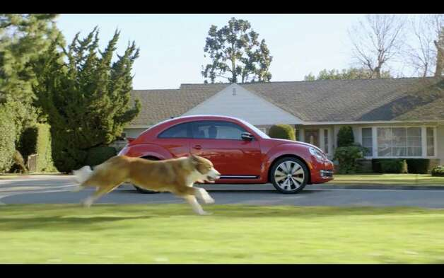 A screengrab taken from YouTube on Thursday, Feb 2., shows the Volkswagen commercial set to air Super Bowl Sunday, Feb. 5, 2012. (Times Union)