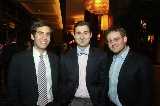 (For the Chronicle/Gary Fountain, January 27, 2012)  Eric Hoffman, from left, Brett Riesenfeld and Matt Johnson. Photo: Gary Fountain / Copyright 2012 Gary Fountain