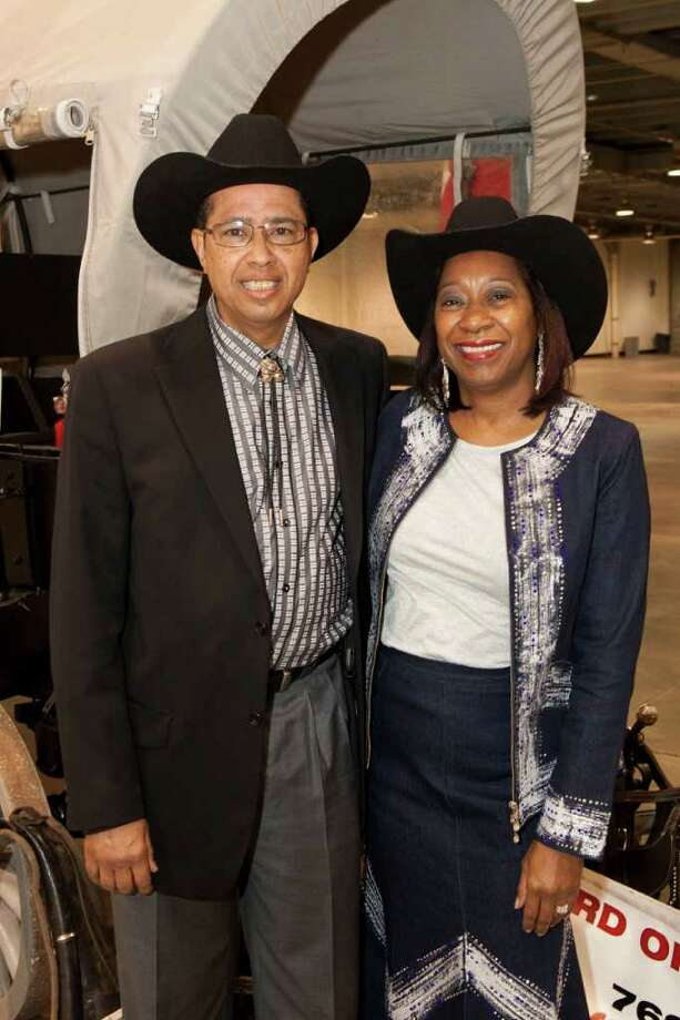Mark Wimberly and Rhonda Wimberly Photo: Bruce Bennett / Houston Chronicle