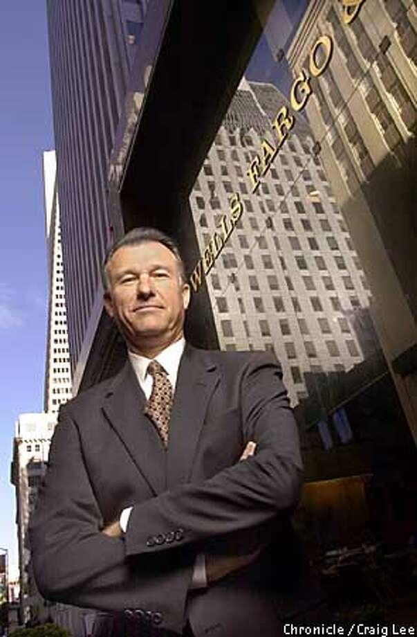WELLS-C-12JAN00-BU-CL  Richard Kovacevich, CEO of Wells Fargo Bank. Photo by Craig Lee/San Francisco Chronicle Photo: CRAIG LEE