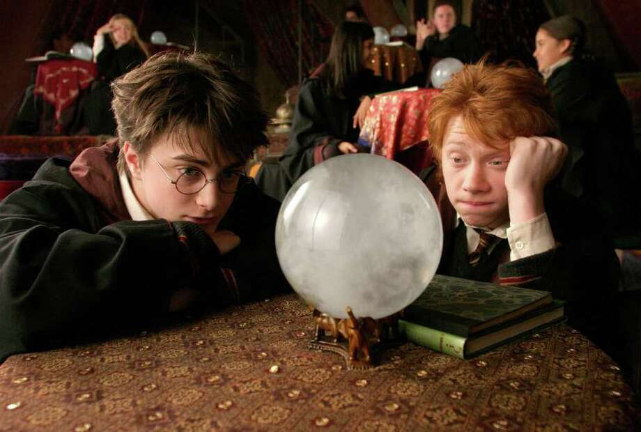 Daniel Radcliffe, left, and Rupert Gint got their big breaks as co-stars in the wildly successful Harry Potter film series. Photo: MURRAY CLOSE / WARNER BROS