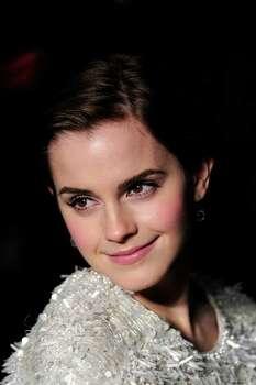 17: Actress Emma Watson (The Harry Potter saga) / AFP