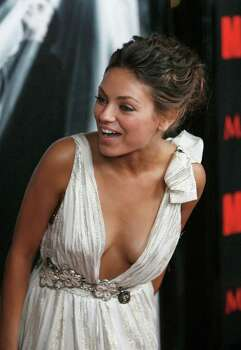 13:  Actress Mila Kunis (Black Swan, Friends With Benefits, That 70s Show) / AP2008