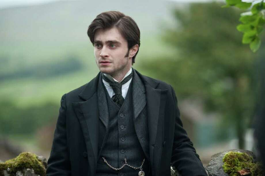 Arthur (Daniel Radcliffe) encounters unexpected terror while on an assignment. Photo: Nick Wall / ©2011 CBS Films. All Rights Reserved